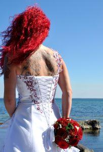 Hochzeitsbild Strand